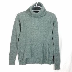 Madewell Madewell Ribbed Turtleneck Sweater